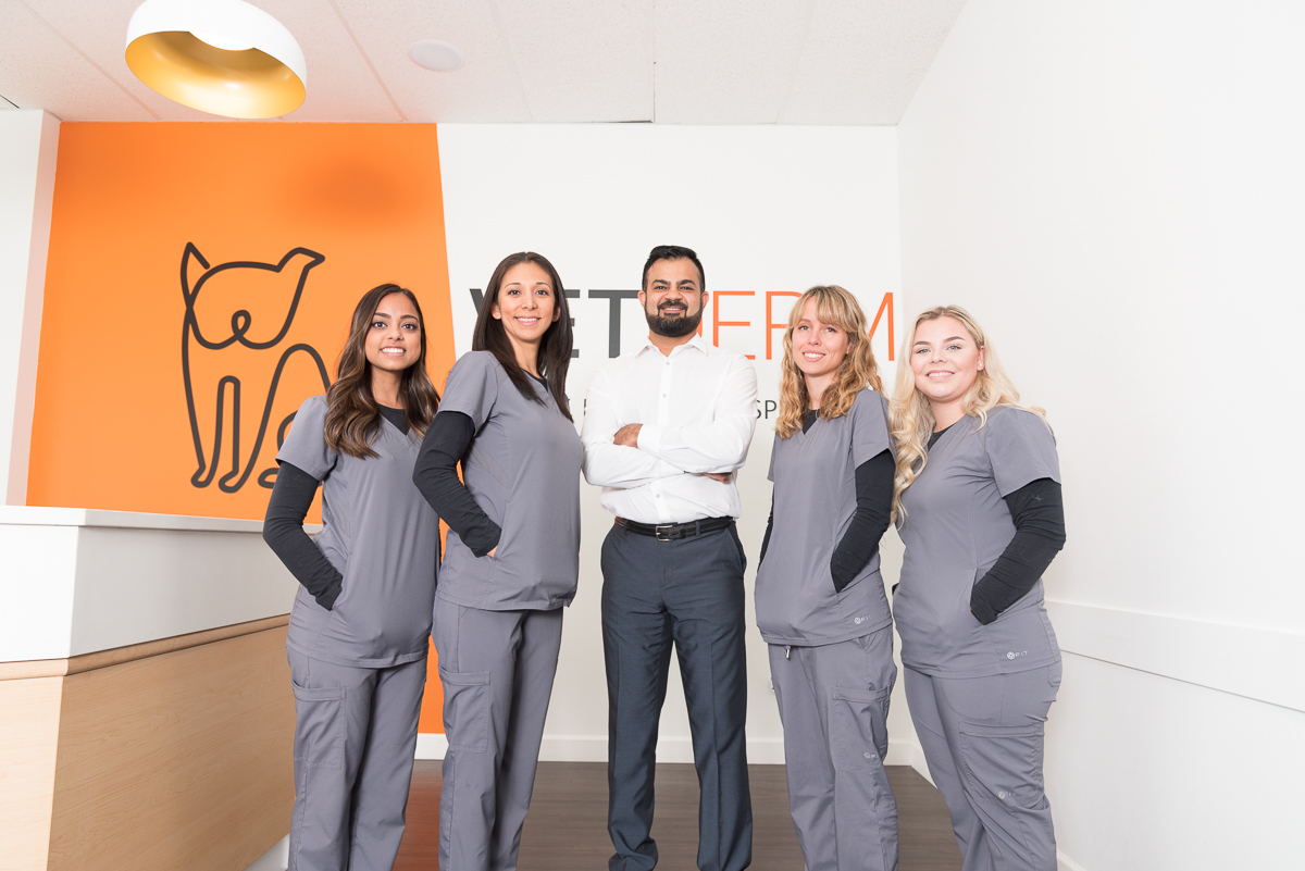 Business Brand Photography Session for Veterinary Clinic